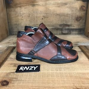 Rieker Shearling Lined Leather Side Zip Boot